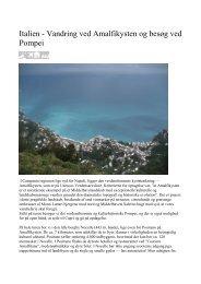 Italien - Vandring ved Amalfikysten og besøg ved ... - Politiken Plus