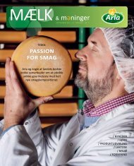 PASSION FOR SMAG - Arla