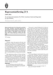 Representantforslag 23 S - Stortinget