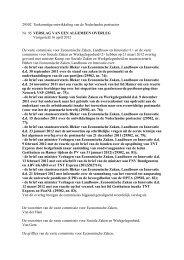 29502 Toekomstige ontwikkeling van de Nederlandse ... - liigl