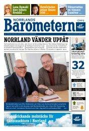 NorrlandsBarometern Nr1 - Norrlandsfonden