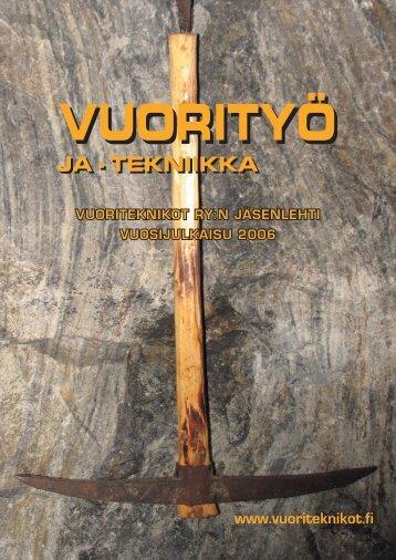Lataa Vuorityö ja-tekniikka 2006 - Vuoriteknikot