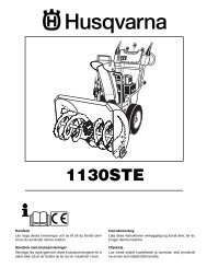 OM, 1130 STE, 2004-11, SE, DK, NO, FI - snowblowerguide.com