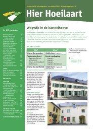 wegwijs in de kasteelhoeve - Website Gemeente Hoeilaart