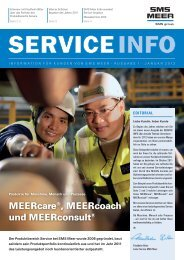 MEERcare®, MEERcoach® und MEERconsult® - SMS Meer GmbH