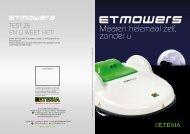 ETESIA robotmaaier - O. De Leeuw Groentechniek