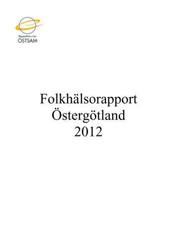 Folkhälsorapport Östergötland 2012