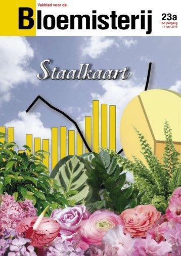 VBB Staalkaart 23a/2010 - Vakblad voor de Bloemisterij