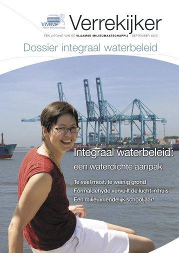Integraal waterbeleid: - Vlaamse Milieumaatschappij