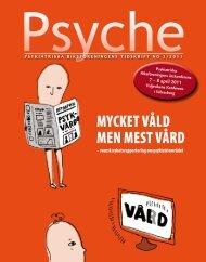 Tidningen Psyche nr 1 – 2011 - Psykiatriska Riksföreningen