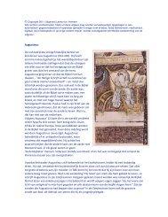 Augustinus De invloedrijkste vroegchristelijke denker en ... - Lambo