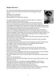 Mengele leeft voort… - Verontruste Moeders