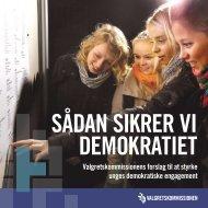 Valgretskommissionens betænkning - Dansk Ungdoms Fællesråd