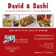 david vanløse - David & Sushi