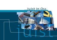 Brochure - Juist in Oss - Logistiek platform Oss