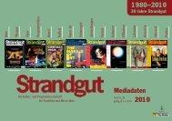 Mediadaten 2010 1980–2010 - Strandgut