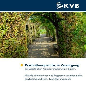 Psychotherapeutische Versorgung - Thorwart-online.de