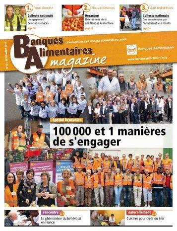 100 000 et 1 manières de s'engager - Banques Alimentaires
