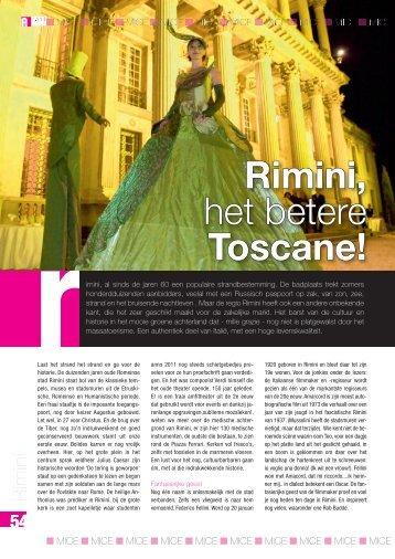 Rimini, het betere Toscane!