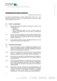 Almindelige Betingelser for pakkerejser - Dansk Fri Ferie