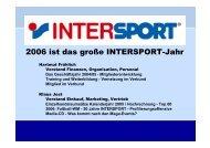 2006 ist das große INTERSPORT-Jahr - sportpress.de