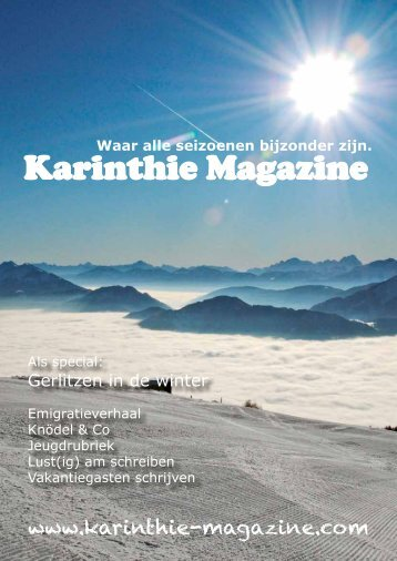 Download in .pdf formaat - Karinthie Magazine