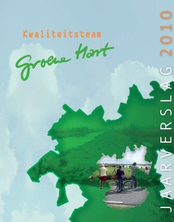 JAARVERSLAG 2O1O - Groene Hart