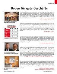 Boden für gute Geschäfte - beim SN-Fachpresse Verlag