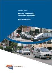 Ontwerp Gemeentelijk Verkeer en Vervoerplan - Gemeente Bussum