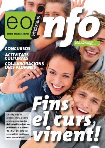 Número 2. Maig 2012 - Escola Oficial d'Idiomes de Viladecans