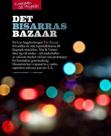 Det bisarras bazaar - Photographer Inger Bladh