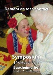 Symposium - Jong Dement