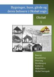 Bygninger, huse, gårde og deres beboere i Oksbøl sogn Oksbøl 1