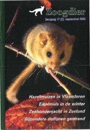 Inhoud Zoogdier 17(3) september 2006 - Nieuw in de Zoogdierwinkel