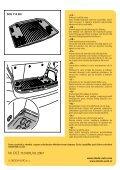Vana zavazadlového prostoru Kunststoffwanne für Kofferraum ... - Page 2