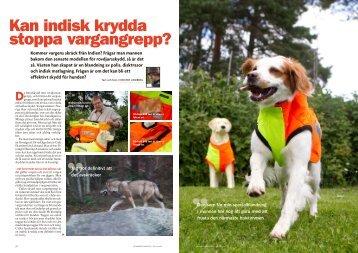 Rovdjursskydd för hund. - Utebilder.se