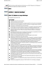 Deel Deel I I Hoofdstuk Hoofdstuk 1. 1. Algemene Algemene bepalingen bepalingen