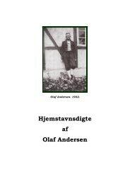 Hjemstavnsdigte af Olaf Andersen - Vestfyns Hjemstavnsforening