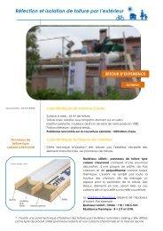 Réfection et isolation de toiture par l'extérieur - ALE-Montpellier