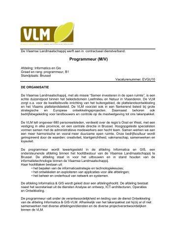 vacaturebericht - pdf - Jobpunt Vlaanderen