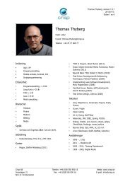 Thomas konsultprofil - Crisp