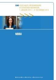 een nieuwe cao voor Vaste Medewerkers - NBBU