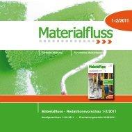 Materialfluss - Redaktionsvorschau 1-2/2011 - materialfluss.de