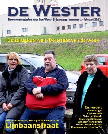 Lijnbaanstraat - De Wester