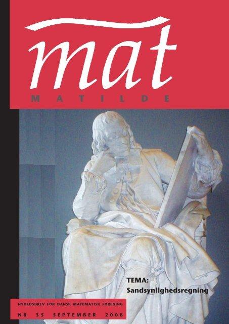 September 2008 - Matilde - Dansk Matematisk Forening