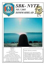 SBK-Nytt 2005.Nr.3 - Sandarne båtklubb