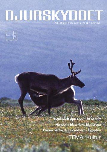 Renen - Djurskyddet Sverige