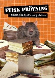 pdf Etisk prövning – nästan alla djurförsök godkänns - Djurens Rätt