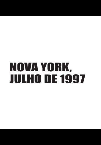 NOVA YORK, JULHO DE 1997 - Livraria Martins Fontes