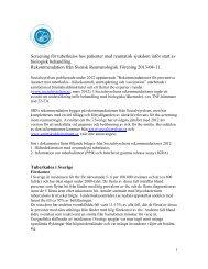 Screening för tuberkulos hos patienter med reumatisk sjukdom inför ...